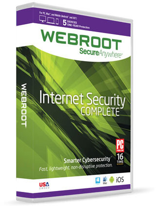 Webroot® SecureAnywhere™ Complete