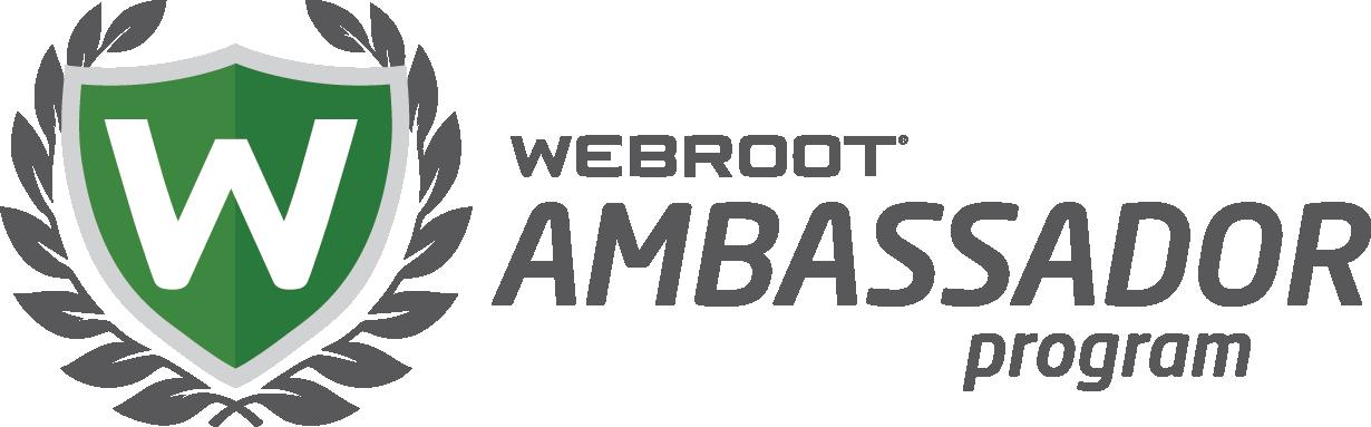 Webroot Ambassador Program Badge
