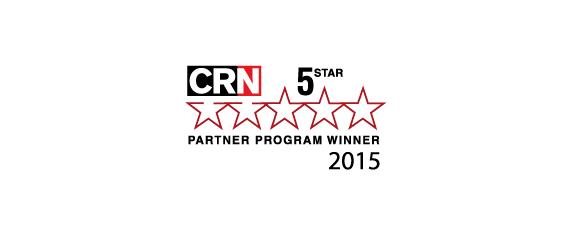 CRN 5 Star Partner Program Winner 2015