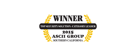 Top Security Solution 2015 ASCII Group